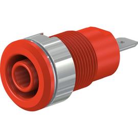 49.7044-22 Multi-Contact SLB4-F/N-X 4mm Sicherheitsbuchse rot Produktbild