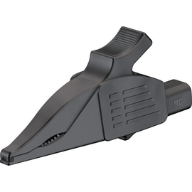 66.9575-21 Multi-Contact XDK-1033 4mm Abgreifer Delfinklemme schwarz Produktbild