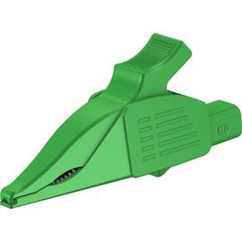 66.9575-25 Multi-Contact XDK-1033 4mm Abgreifer Delfinklemme grün Produktbild