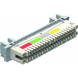 5084012 Obo LSA T LEI Trennleiste 10 Doppeladern für LSA Plus 40 polig   weiß Produktbild