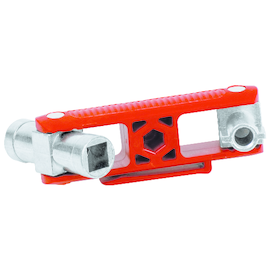 00 11 06 V02 Knipex Universal Schlüssel für gängige Schränke und Absperrsysteme Produktbild
