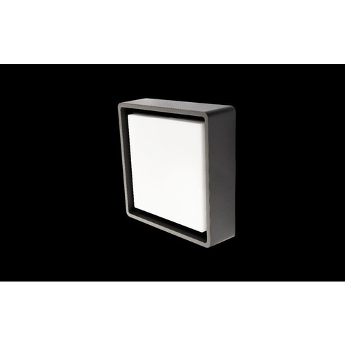 605263 SG Leuchten FRAME SQUARE graphit 5,8W LED 3000K + Sensor (HF) Produktbild Front View L