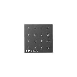 851328 Gira Aufsatz Codetastatur System 55 Anthrazit Produktbild