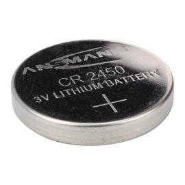 5020112 Ansmann Lithium Knopfzelle CR2450 3V 1er Blister Produktbild