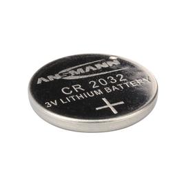 5020122 Ansmann Lithium Knopfzelle CR2032 3V 1er Blister Produktbild