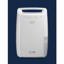0148510201 DeLonghi DEX210 Luftentfeuchter 267W bis 45m³ 2,1L Wt. Produktbild