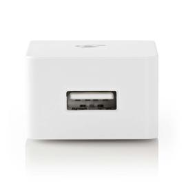WCHAU240AWT Nedis Netzladegerät | 2,4 A | 1 Ausgang | USB A | Weiß Produktbild