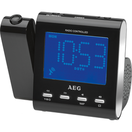 241005 AEG Audio MRC 4122 FN Funk Uhrenradio mit Projektion Produktbild