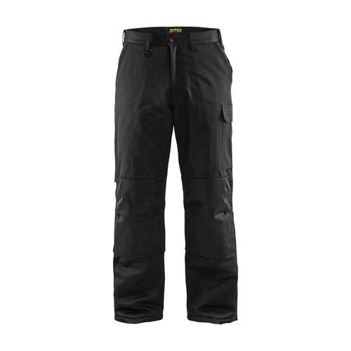 180019009900C50 Blakläder Winterhose warm gefüttert schwarz C50 Produktbild Front View L
