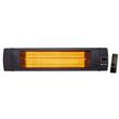 273135 Hendi Infrarotstrahler 230V 2500W IP55 inkl. Fernbeding Nano-Anthrazit Produktbild