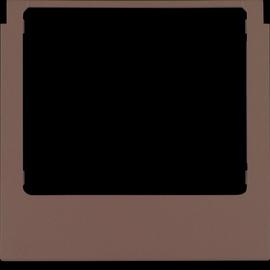 13197006 Berker Designrahmen eckig anthrazit, matt Produktbild