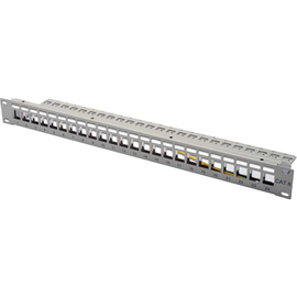 00701064 ANT Patchpanel leer 24-fach RAL7035 Produktbild