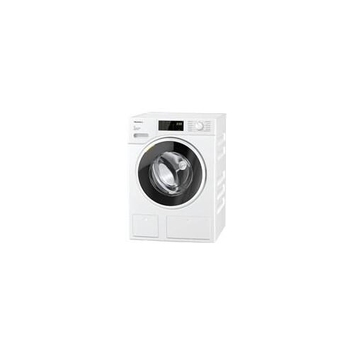11565530 Miele WWD660 WCS TDos & 8kg W1 Waschmaschine Frontlader Lotosweiß Produktbild Front View L