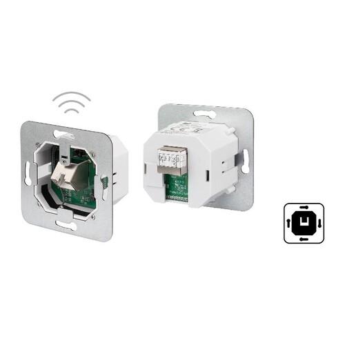 13005AP300-E Metz PoE Accesspoint 300Mbps plug Produktbild Front View L