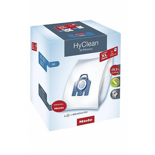 10632880 Miele GN Allergy XL-Pack 8 Staubbeutel + 1 HEPA Airclean Filter Produktbild Front View L