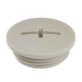 EVS-PA M12 Eltropa Verschlussschraube M12 PA lichtgrau halogenfrei Produktbild