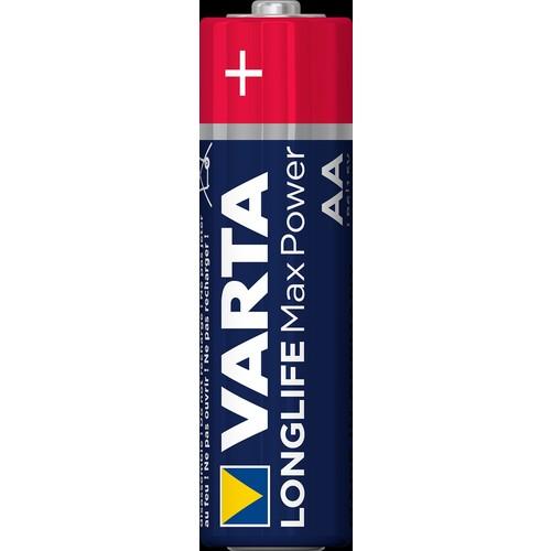 04706101404 VARTA LONGLIFE Max Power AA/Mignon (4STK.-BL.) Produktbild Additional View 1 L