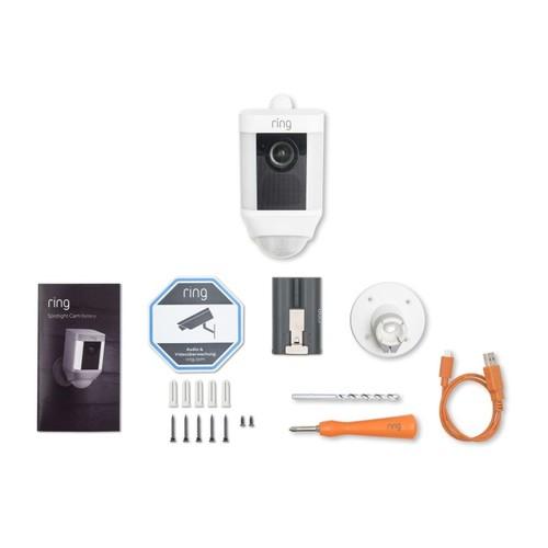 4462229 Ring 8SB1S7-WEU0 Überwachungs- kamera WLAN weiß Batterie Produktbild Additional View 1 L