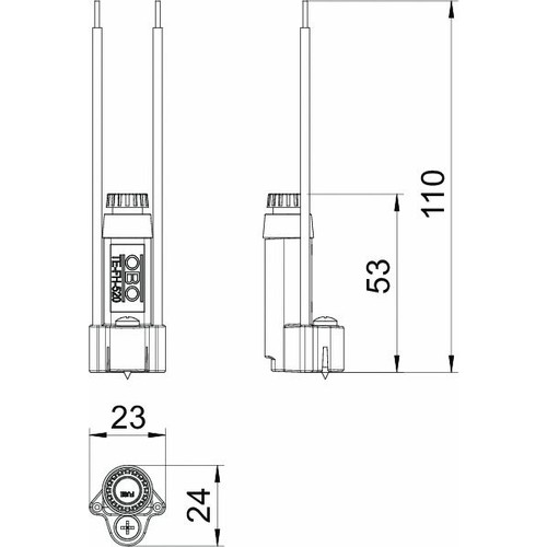 7205570 Obo TE-FH 520 Sicherungshalter FireBox T für Feinsicherung Produktbild Additional View 1 L