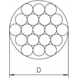 5021654 OBO S 11-CU Kupferseil 19x2,1mm Kupfer Produktbild Additional View 1 S