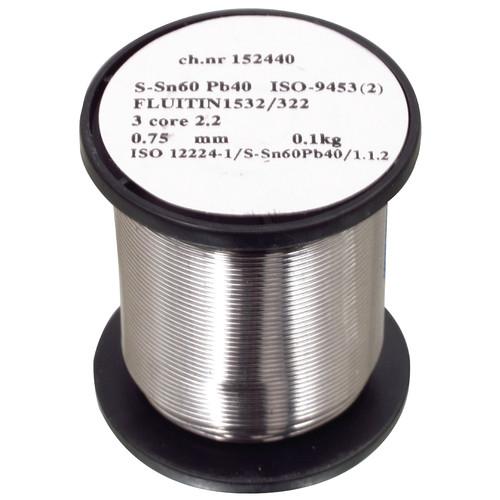 TIND-WM 500 Cookson Electr. Bleihaltiges Lötzinn 0,70 mm 500 g (Lötdraht) Produktbild Additional View 1 L
