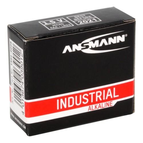 1501-0009 Ansmann Industrial Alkaline Batterie Micro AAA / LR03 10er Karton Produktbild Additional View 1 L