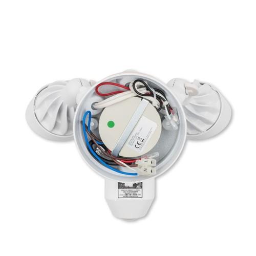 4462225 Ring 8SF1P7-WEU0 Überwachungs- kamera WLAN weiß Flutlicht Produktbild Additional View 2 L