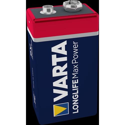 04722101401 VARTA LONGLIFE Max Power 9V Blister 1 Produktbild Additional View 2 L