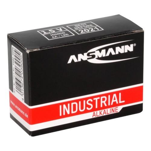 1502-0006 Ansmann Industrial Alkaline Batterie Mignon AA / LR6 10er Karton Produktbild Additional View 2 L
