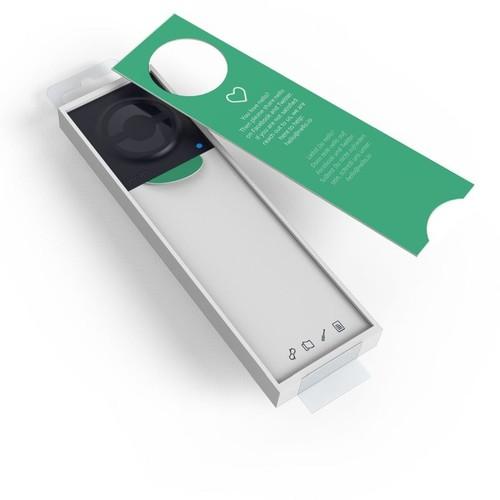 Nello One Smarter Türöffner für Gegensprechanlagen schwarz Produktbild Additional View 5 L