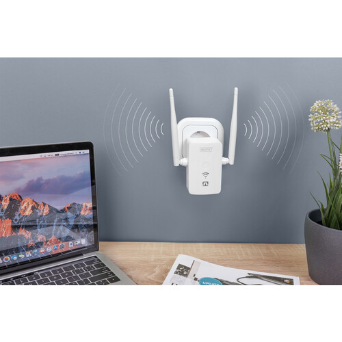 DN-7070 Digitus WLAN Repeater 1.2Gbps Produktbild Additional View 5 L