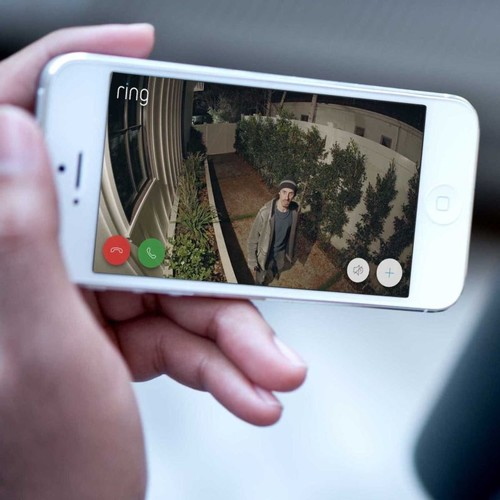 4462231 Ring 8SF1P7-BEU0 Überwachungs- kamera WLAN schwarz Flutlicht Produktbild Additional View 7 L