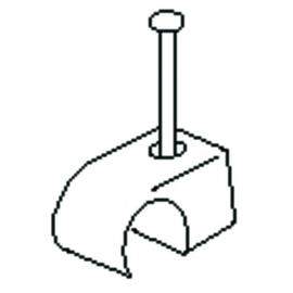 K2723/25BR Kleinhuis Nagelschelle 7-11 braun (100 Stk.) Produktbild