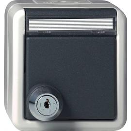 44730 GIRA SCHUKO-STECKDOSE M. SCHLOSS FR AP Produktbild
