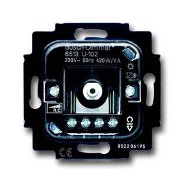6513 U-102 BUSCH-JAEGER DIMMER 420W/VA WECHSELEINS. GLÜH/ELECTR. TRAFO Produktbild