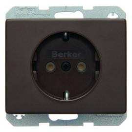 47150001 BERKER SCHUKO-STECKDOSE ARSYS BRAUN Produktbild