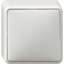 10613 GIRA AP-WECHSELSCHALTER REINWEISS Produktbild