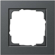 21123 GIRA RAHMEN 1-FACH E2 ANTHRAZIT Produktbild