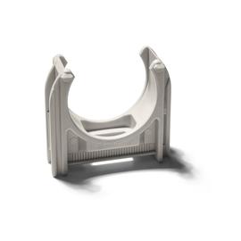 11080 SCHNABL EC 20 EURO-CLIP ROHR- SCHELLE HELLGRAU Produktbild