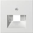 27027 GIRA ZENTRALST.F. UAE INCL. ZWISCHENPL SYSTEM 55 REINWEISS MATT Produktbild