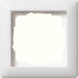 21104 GIRA RAHMEN 1-FACH STANDARD 55 REINWEISS Produktbild