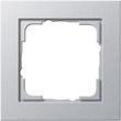 21125 GIRA RAHMEN 1-FACH E2 ALUMINIUM Produktbild