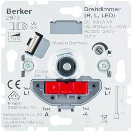 2873 Berker Dimmer 20-500W/VA Wechsel- einsatz, für LED geeignet Produktbild