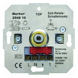 294810 BERKER ZEIT-RELAIS-SCHALTER EINS. Produktbild