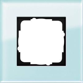 21118 GIRA RAHMEN 1-FACH ESPRIT Glas mint Produktbild