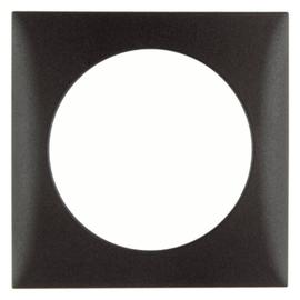 918272501 BERKER RAHMEN 1-F INTEGRO FLOW BRAUN DAMASZIERT Produktbild