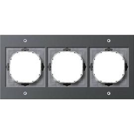 21367 GIRA RAHMEN 3-FACH FR UP TX44 ANTHRAZIT Produktbild