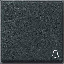 28667 GIRA WIPPE M. SYMBOL KLINGEL FR UP TX44 ANTHRAZIT Produktbild