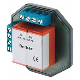 2930 BERKER ROLLOTEC TRENNRELAIS TR 2S ZUR STEURUNG V. 2 ROLLADEN-MOTOREN Produktbild