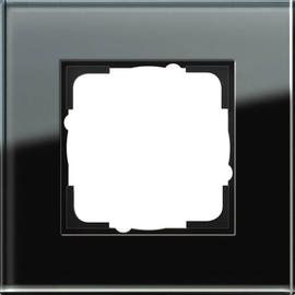 21105 GIRA RAHMEN 1-FACH ESPRIT GLAS SCHWARZ Produktbild
